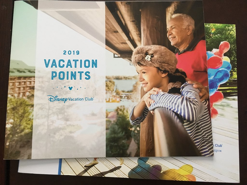 DVC Points | 2019 Vacation Points