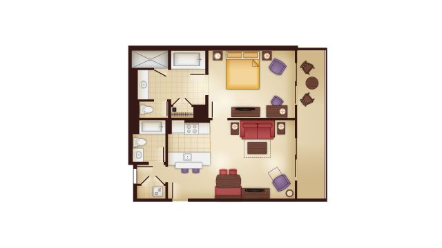 Kidani - One Bedroom