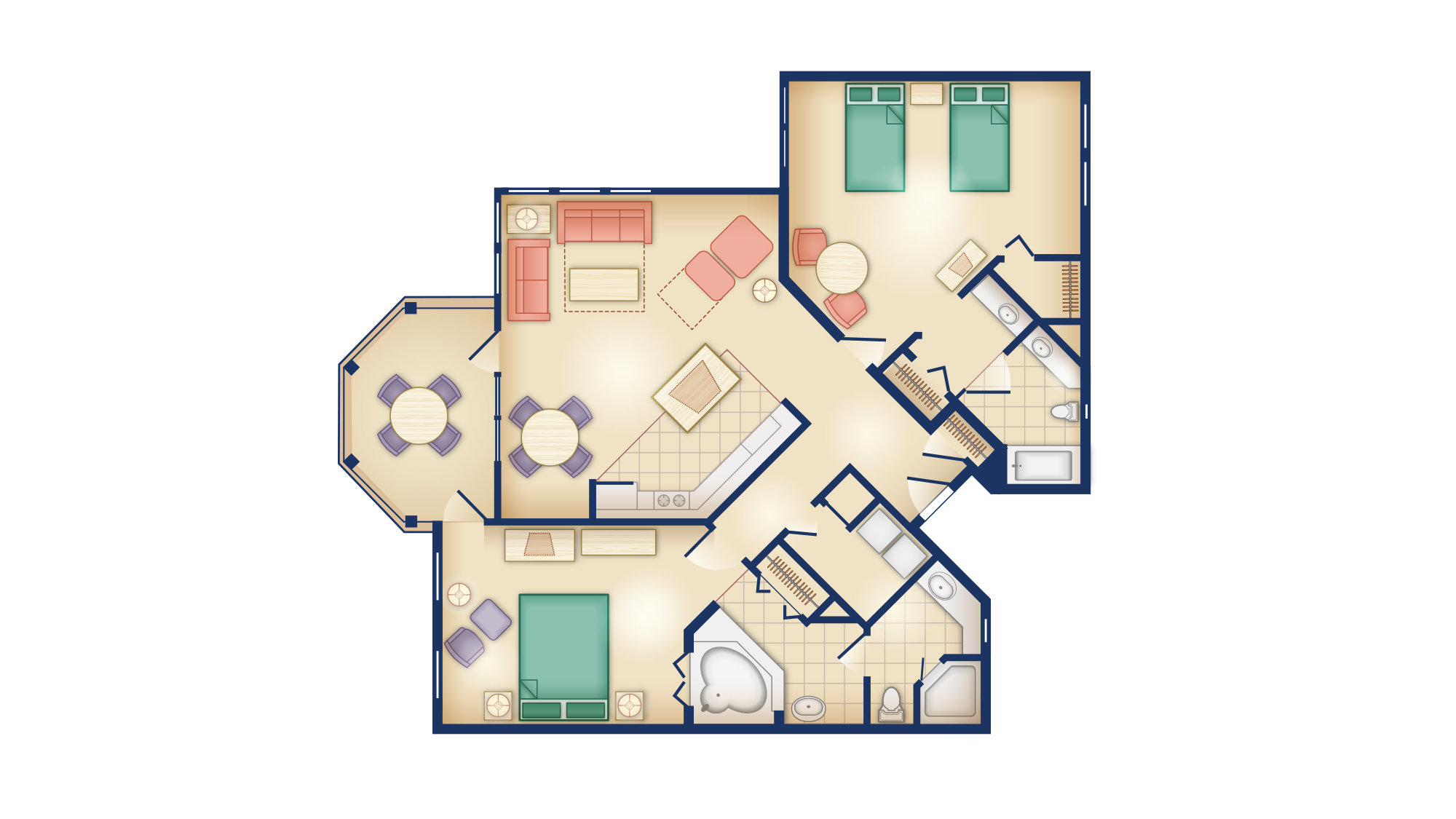 OKW - Dedicated Two-Bedroom