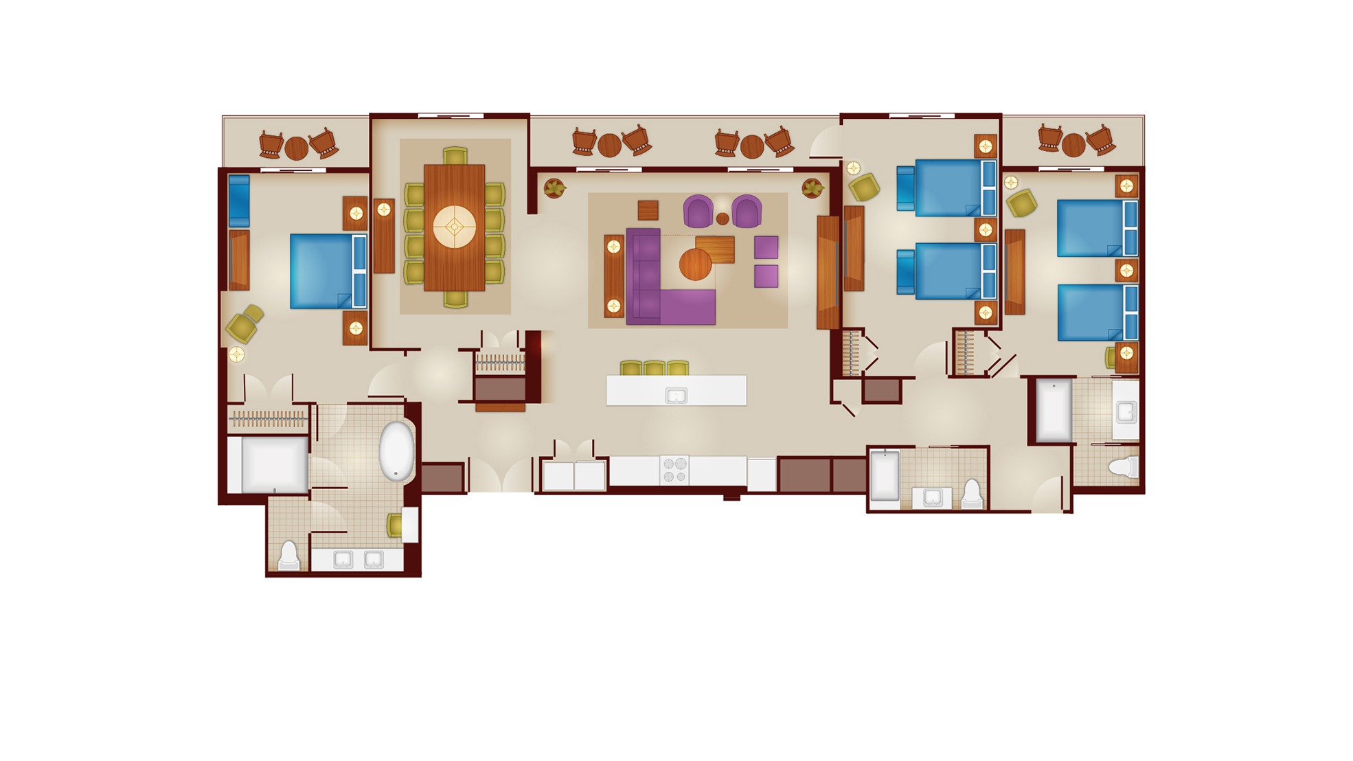 Riviera - Grand Villa Floor Plan