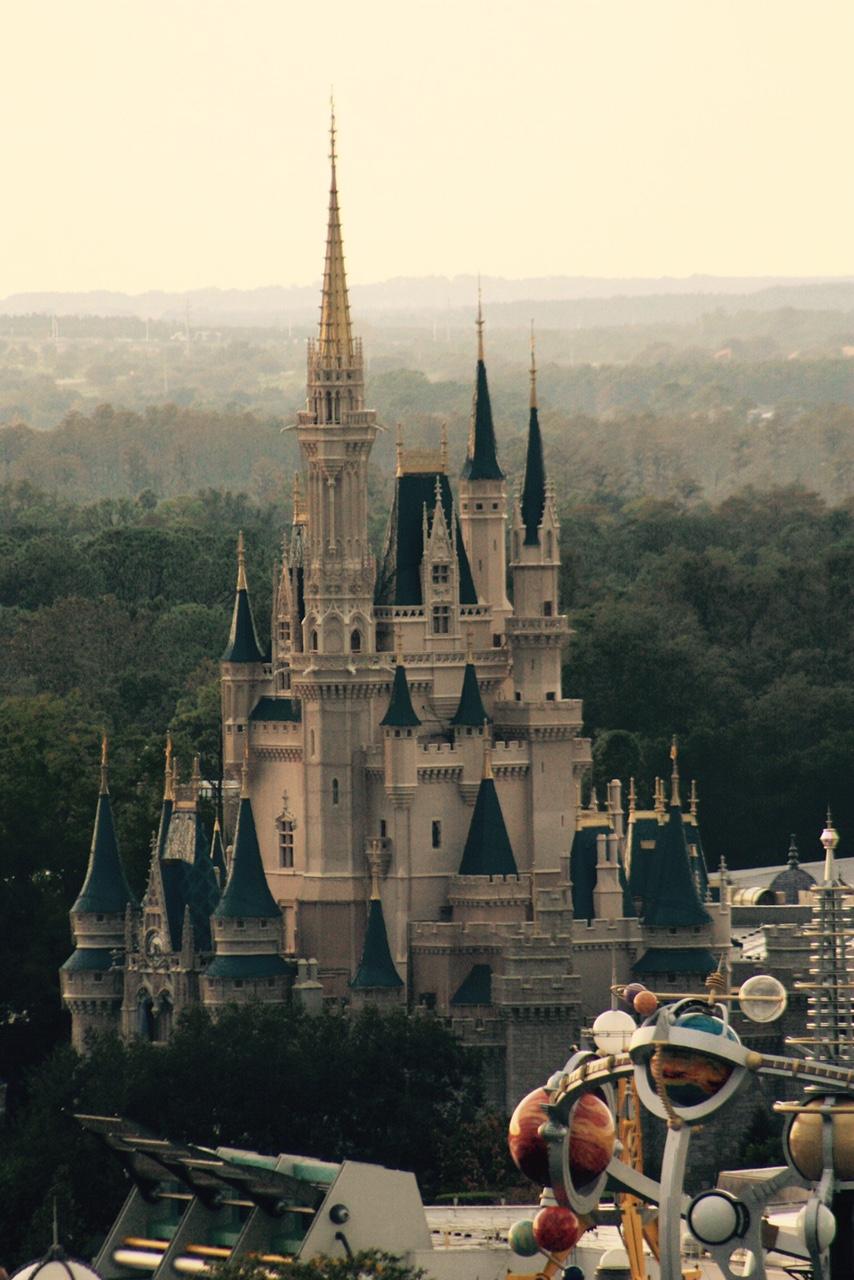 Disney Vacation Club | aerial View of Disney Castle