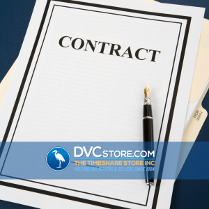 DVC Contract Changes   A Blank Contract