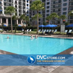 Disney's Beau Soleil Pool   People Swimming in Resort Pool