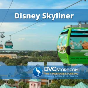 Disney's Skyliner Resort Transport   A Skyliner Car Entering Disney