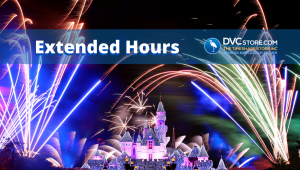 Disney's Extended Hours   Disney at Night